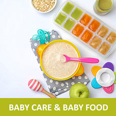 baby care & baby food